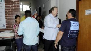 Gabinete itinerante do governador no HGP é novamente instalado