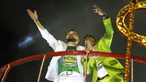 Zezé e Luciano comentam suposto patrocínio do governo de Goiás a escola de samba