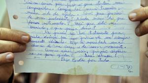 """Em carta, suposto serial killer diz que chorou """"pelas vidas que se foram"""""""