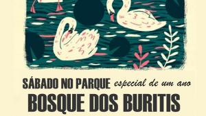 """Letra Livre celebra um ano neste """"Sábado no Parque"""""""