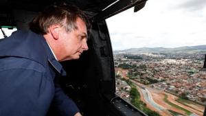 Após sobrevoo, Bolsonaro anuncia repasse de R$ 892 milhões para cidades afetadas pela chuva
