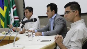 CEI dos Transportes realiza audiência com o governador Marconi Perillo