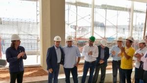 Prefeitura e Secretaria de Desenvolvimento de Goiás vistoriam Centro de Convenção de Anápolis