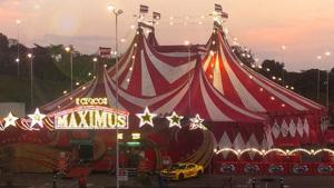 Circo Maximus promove espetáculos em shopping de Goiânia