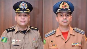 Coronéis Renato Brum e Dewislon Mateus são anunciados comandantes da PM e Bombeiros