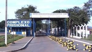 Agentes controlam princípio de tumulto na CPP, em Aparecida de Goiânia