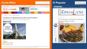 """Curta Mais publica listas de bares e restaurantes… e """"O Popular"""" copia"""