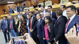 Romário Policarpo é eleito presidente da Câmara com os 24 votos prometidos