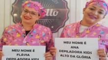 Empresa goiana oferece depilação para crianças e gera polêmica