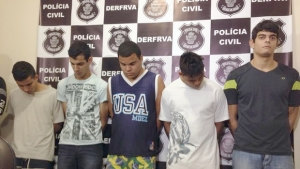 Organização criminosa que roubou 40 veículos na Grande Goiânia, no período de um ano, é presa
