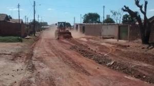 Prefeitura de Aparecida lança pavimentação asfáltica em três bairros