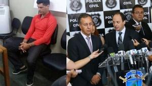Cúpula da segurança pública de Goiás confirma que homem preso é o serial killer