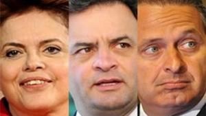 Dilma e pré-candidatos à presidência prestigiam evento da indústria da construção civil em Goiânia