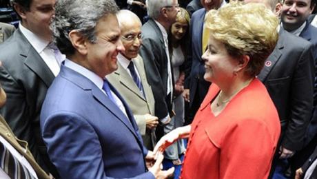 Pesquisas sugerem que pancadaria de Aécio Neves está transformando Dilma Rousseff em vítima