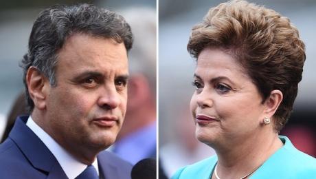 Ibope e Datafolha mostram Dilma à frente de Aécio
