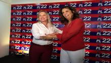 """""""PL me deu segurança"""", diz Dra Cristina ao lançar pré-candidatura à Prefeitura de Goiânia pela sigla"""