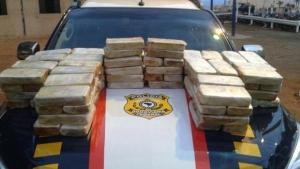 PRF apreende 100 kg de pasta base de cocaína, em Anápolis