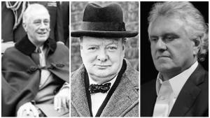 Roosevelt e Churchill podem ensinar Ronaldo Caiado a ser mais otimista