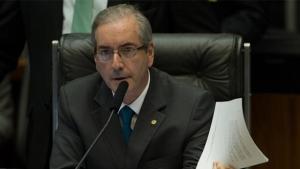 "Acusado de ter pedido propina de R$ 5 mi, Cunha afirma que delator foi ""obrigado a mentir"""