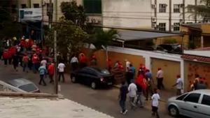 Trabalhadores rurais invadem sede da Emater. Veja vídeo