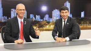 Embaixador de Israel conhece Record TV Goiás