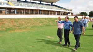 Estádio Jonas Duarte está apto para  o início do Campeonato Goiano 2016