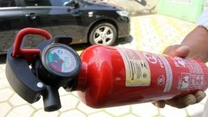 Extintores em carros passarão a ser opcionais