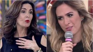 Fátima Bernardes perde paciência com Tatá Werneck e dá patada em humorista