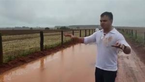 Fazendeiro de Turvânia rebate acusações feitas por prefeito. Veja vídeo