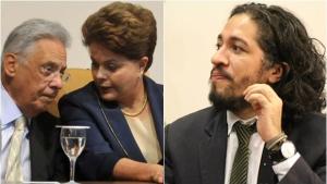 FHC e Dilma manifestam apoio a Jean Wyllys em caso de cusparada em Bolsonaro