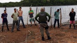 Fiscais deflagram pesca clandestina no Parque Altamiro de Moura Pacheco