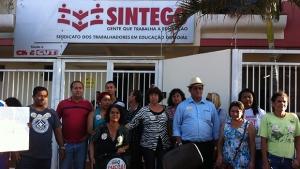 Em meio a protestos da oposição, comissão eleitoral do Sintego anuncia vitória da chapa situacionista