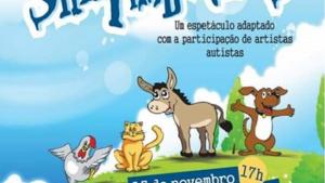 """Crianças e atores autistas apresentam """"Os Saltimbancos"""""""