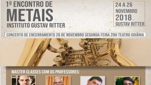 Inscrições abertas para o Encontro de Metais do Gustav Ritter