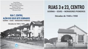 Livros sobre a história do Centro de Goiânia serão lançados nesta quinta (6)