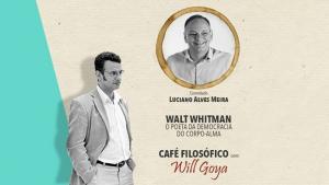 Poesia de Walt Whitman é tema do Café Filosófico