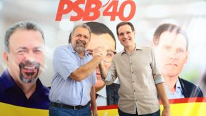 Elias Vaz é confirmado presidente estadual e comanda PSB por mais três anos