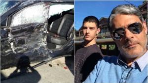 Após acidente, filho de Bonner e Fátima passa por teste que mede álcool no sangue
