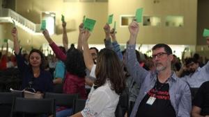 Aulas na UFG estão suspensas, garante sindicato