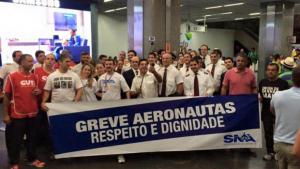 Paralisação atrasa voo em Goiânia. No Brasil, 36 decolagens foram canceladas