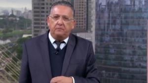 Galvão Bueno se emociona e chora ao falar de acidente de avião da Chapecoense