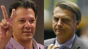 BTG Pactual: Bolsonaro tem 60% dos votos válidos; Haddad, 40%