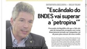 Entrevista com procurador Helio Telho atinge meio milhão de acessos