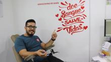 Hemocentro agenda doações de sangue pela internet e telefone