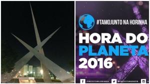 Goiânia adere à Hora do Planeta pela preservação do meio ambiente