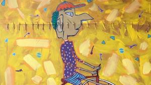 Após Paris, goiano Samuel Caixeta expõe obras na Itália