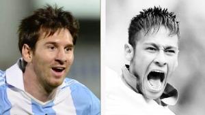 Imprensa brasileira valoriza mais Neymar do que Messi