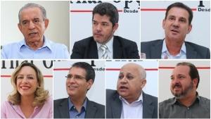 """São Francisco """"desce"""" em Goiânia e """"esvazia"""" marketing eleitoral dos candidatos a prefeito"""
