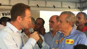 Major Araújo deve ser confirmado candidato a vice na chapa de Iris Rezende