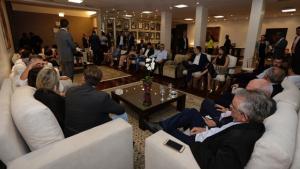 """""""Ninguém governa sem o legislativo, teremos uma convivência republicana"""", diz Caiado aos deputados"""